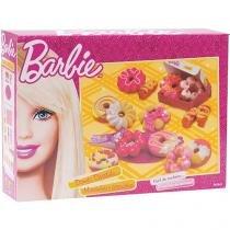 Donuts Divertido Barbie Massinhas e Acessórios - Fun