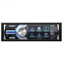 "DVD Automotivo JVC KD-AV500DT Tela 3"" 40 Watts RMS - Entradas para Câmera de Ré USB Auxiliar Frontal"