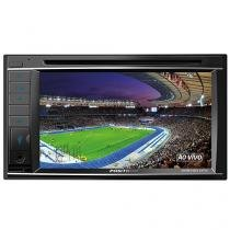 "DVD Automotivo Pósitron SP8720DTV LCD 6,2"" - Retrátil Touch Bluetooth 180W RMS USB SD"