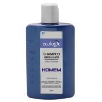 Ecologie Homem Grisalhos Ecologie - Shampoo para Cabelos Louros ou Grisalhos - 275ml - Ecologie