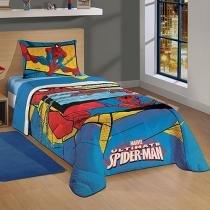 Edredom Infantil 1 Peça - Lepper Marvel Ultimate Spider-Man