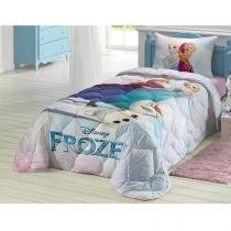 Edredom Solteiro 1 Peça - Lepper Disney Frozen