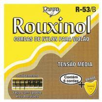 Encordoamento Nylon Bordões Prateados Média R53B - Rouxinol - Rouxinol