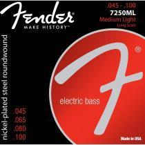 Encordoamento para Contrabaixo 7250ML Aço Niquelado Fender - Fender