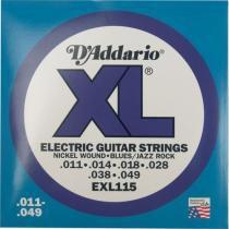 Encordoamento para Guitarra EXL115B - DAddario - DAddario