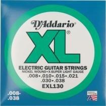 Encordoamento para Guitarra EXL130 - DAddario - DAddario