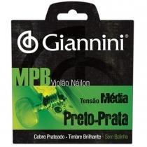 Encordoamento para Violão GENWBS Série MPB Nylon Médio - Giannini - Giannini