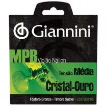 Encordoamento para Violão GENWG com Bolinha Nylon Média - Giannini - Giannini
