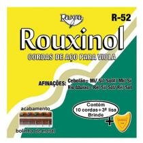 Encordoamento Viola 10C com Bolinha 14287 - Rouxinol - Rouxinol