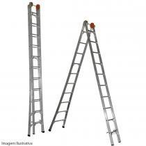 Escada Extensiva em Alumínio 11 Degraus 165100 - Belfix - Belfix