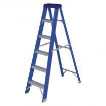 Escada Fibra de Vidro Dupla 150kg 5182 - Mor - Mor