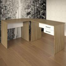 Escrivaninha/Mesa para Computador 2 Gavetas - Multivisão Kit Office 6500