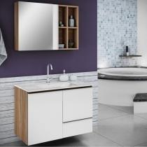 Espelheira para Banheiro Itatiaia Maris - 1 Porta
