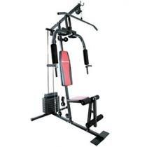 Estação de Ginástica Houston Home Gym EG15A - 15 Tipos de Exercícios Torre de Pesos com 36,8kg