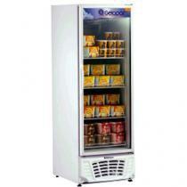 Expositor/Freezer Vertical 1 Porta 418L - Gelopar GPTF 570 Porta com Fechamento Automático