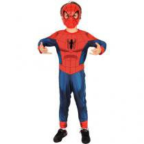 Fantasia Infantil Homem Aranha Ultimate - M Rubie´s