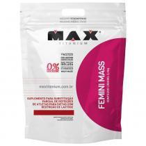 Femini Mass Refil 2,4kg - Max Titanium - Chocolate - Max Titanium