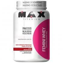 Femini Whey Pote 600g - Max Titanium - Max Titanium