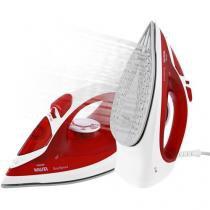 Ferro a Vapor Philips Walita EasySpeed RI1028 - Vermelho e Branco com Sistema Corta-Pingos