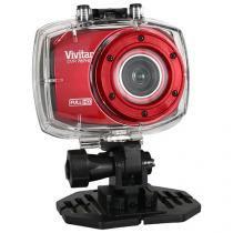Filmadora Vivitar DVR787HD Full HD Esportiva - 12.1MP Conexão Mini USB com Caixa Estanque