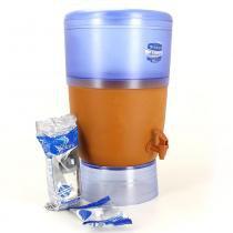Filtro de Água Advance Plus Stéfani com Vela Tripla Ação 6 Litros - Cerâmica Stéfani