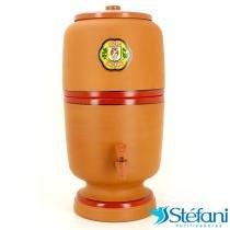 Filtro de Água de Barro Purificador Doméstico Tradicional São João com Vela 4 Litros - São João
