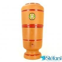 Filtro de Água de Barro Purificador Doméstico Tradicional São João com Vela 6 Litros - São João