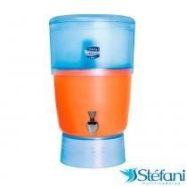 Filtro de Água Purificador Doméstico Advance Plus Stéfani com 2 Velas Tripla Ação 8 Litros - Cerâmica Stéfani