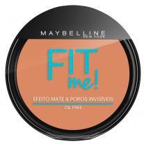 Fit Me! Maybelline - Pó Compacto para Peles Médias - 210 - Medio Verdadeiro - Maybelline