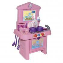 Fogão Infantil Peppa Pig com Acessórios 9820 - Rosita - Rosita