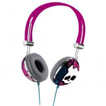 Fone de Ouvido Multilaser com Microfone Monster High Multilaser P2 - PH099 - Multikids