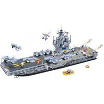 Força Tática Navio Porta Aviões 2580 Peças - BanBao