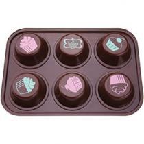 Fôrma para Cupcake Alumínio - Tramontina La Pasticceria 27899/031