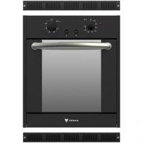 Forno de Embutir a Gás Venax Totale Nero 50L Grill - Timer