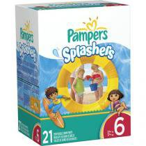 Fralda Pampers Splashers Tam XG - 21 Unidades