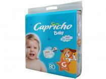 Fraldas Capricho Baby Tam G 80 Unidades - Camada Interna Extra Suave com Aloe Vera