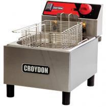 Fritadeira 4,5 Litros Inox Cesto Removível 2900W - Croydon Quente Elétrica FC1B?2
