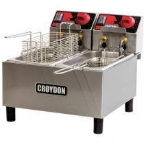 Fritadeira 6 Litros Inox Cesto Removível - Croydon Quente Elétrica FC2A?2