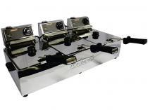 Fritadeira Elétrica 5L Inox Turbo - Cotherm Três Cubas