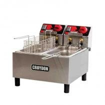Fritadeira Elétrica com 2 Cubas de 3 Litros FC2A - Croydon - 110V - Croydon