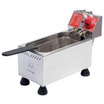 Fritadeira Elétrica Industrial Marchesoni - Inox 4L FT.1.402