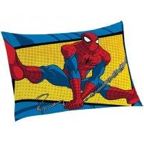 Fronha Avulsa Estampada Spider-Man Ultimate - Lepper - Azul - Lepper