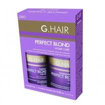 G.Hair Kit Shampoo e Condicionador Perfect Blond Home Care - 2x250ml - G.Hair
