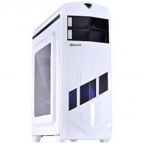 Gabinete Mid-Tower VX Gaming Blizzard V2 Branco LED Azul - Vinik - Vinik