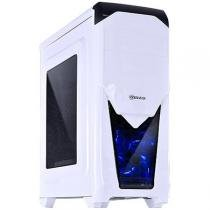 Gabinete Mid-Tower VX Gaming Twister V2 Branco LED Azul - Vinik - Vinik