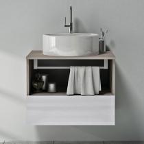 Gabinete para Banheiro com Cuba 1 Gaveta - Itatiaia Solaris