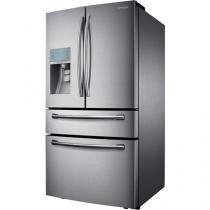 Geladeira/Refrigerador Samsung French Door Inox - 632L Dispenser de Água Sparkling RF31FMESBSL/AZ