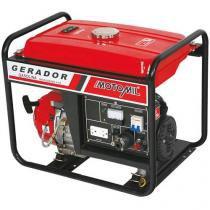 Gerador de Energia á Gasolina 6,5Hp Motomil - MG-3000CLE