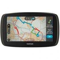 """GPS Automotivo Tomtom GO 60B - Tela 6"""" Mapas 3D"""