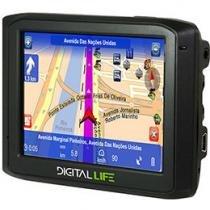 """GPS DL GL3 Tela 3,5"""" - 1305 Cidades Mapeadas + Mapas 3D"""